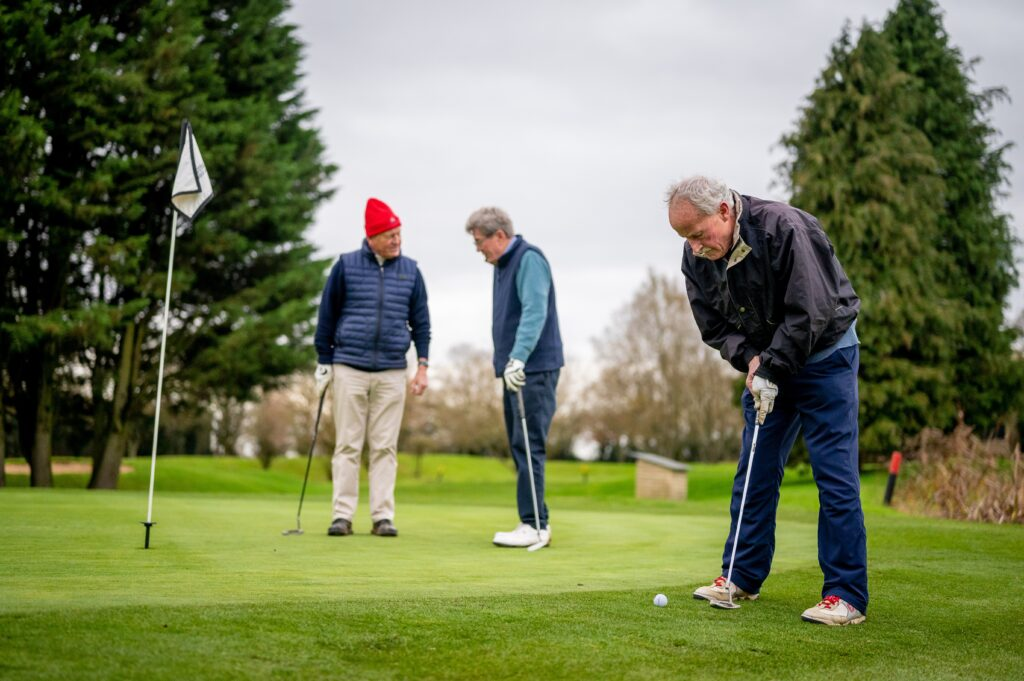 golfing at USSOG